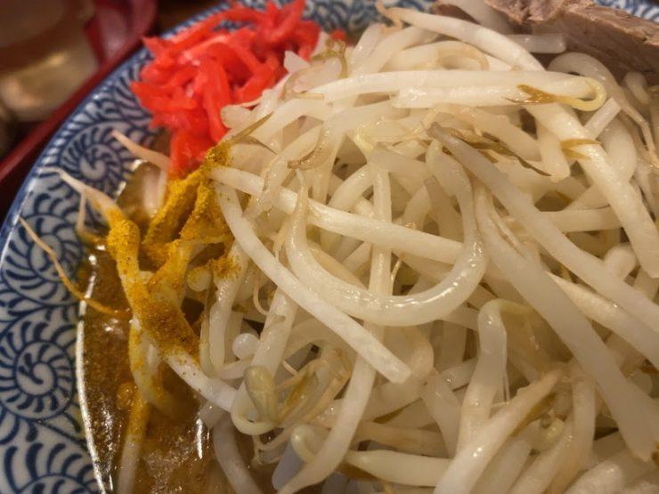ジャンキーモンキーjrの上肉ラーメンのヤサイ