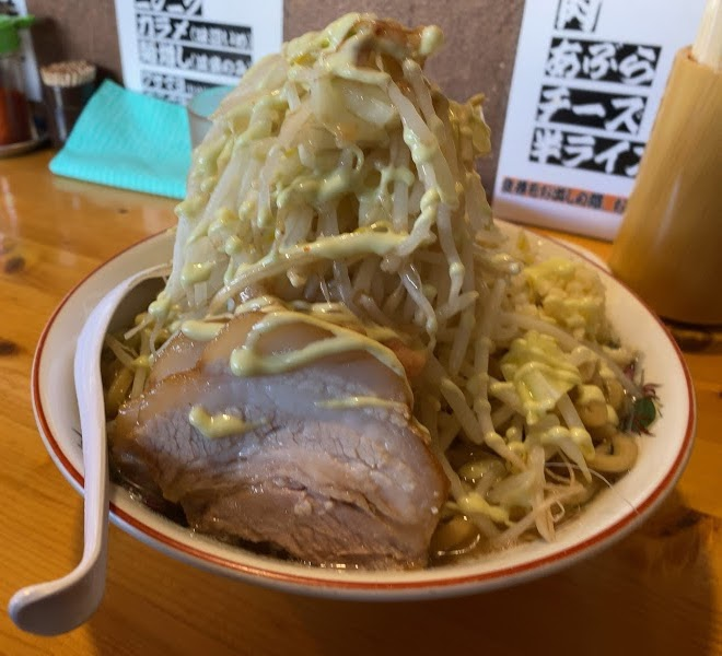 板橋本町のラーメン慶次郎本店、S-SHITの一杯