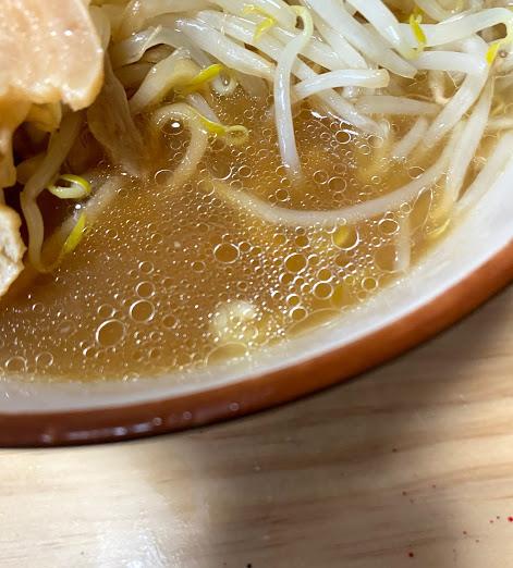 「豚園」のスープ