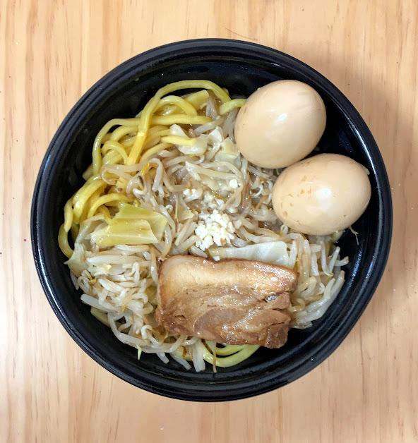 ローソンの二郎系チルド麺「豚醤油ラーメン」の感想とまとめ