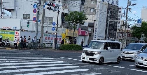 ラーメン富士丸西新井大師店に到着