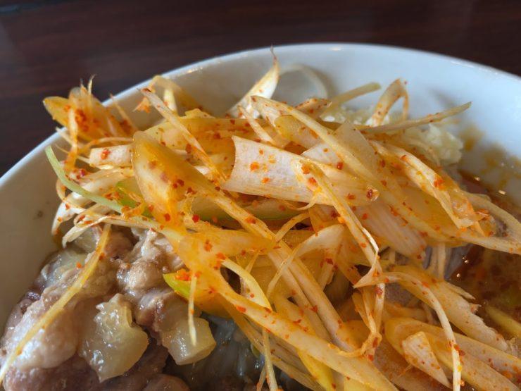 ピコピコポンの塩つけ麺が着丼8