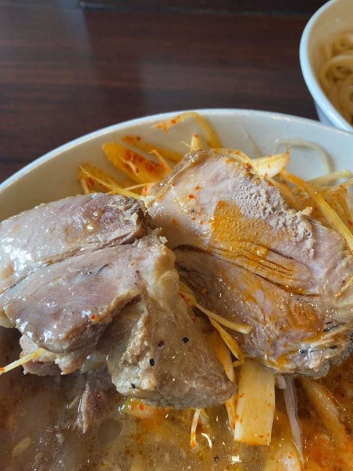 ピコピコポンの塩つけ麺が着丼6