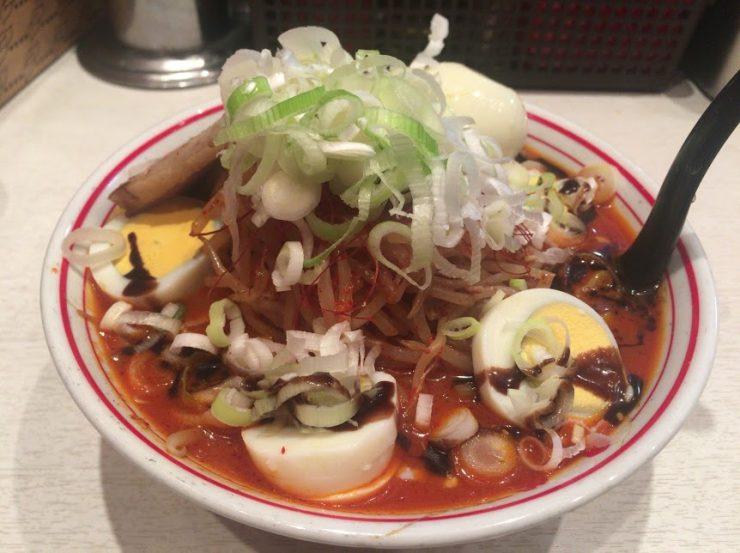 焦がし味噌卵麺4