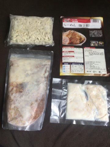 宅麺,桐龍,ラーメン2