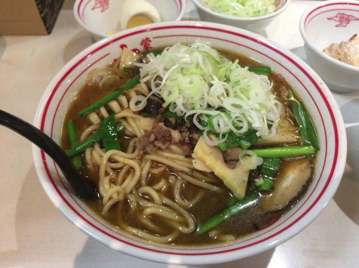 品川の中本で冷し麻辣麺7