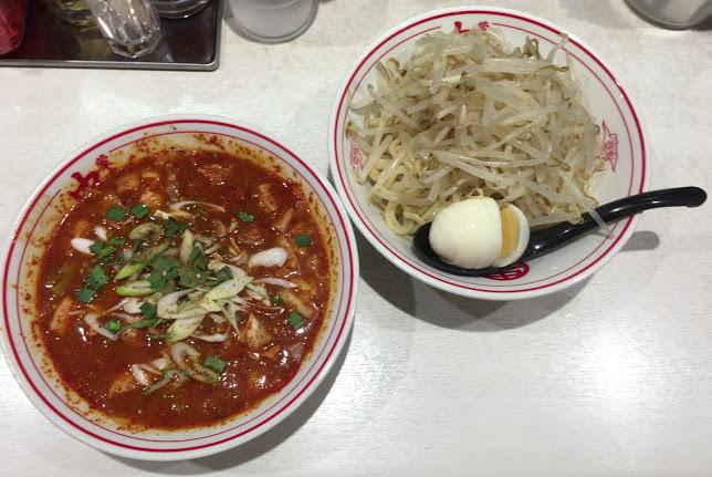 中本,東池袋,赤鬼,つけ麺4