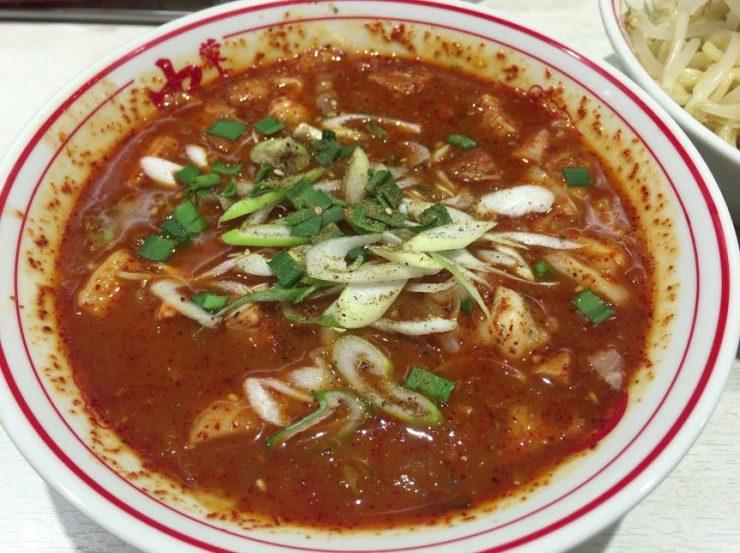中本,東池袋,赤鬼,つけ麺6