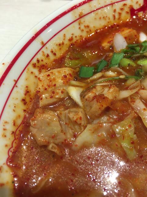 中本,東池袋,赤鬼,つけ麺7