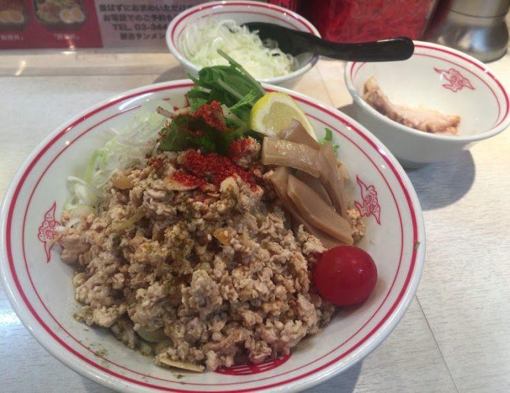 品川の中本で冷し麻辣麺6