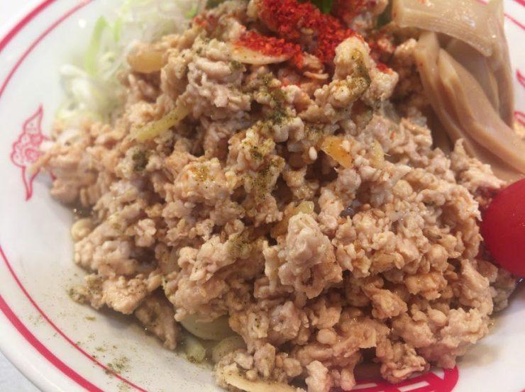 品川の中本で冷し麻辣麺10