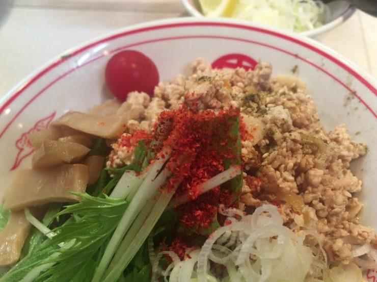 品川の中本で冷し麻辣麺13