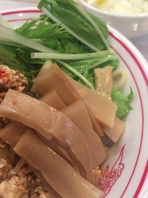 品川の中本で冷し麻辣麺11