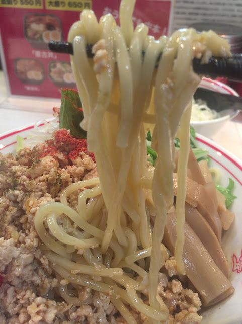 品川の中本で冷し麻辣麺8