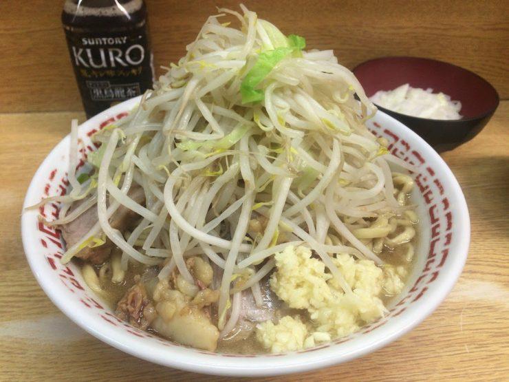 二郎,新代田,量,感想,麺,ルール,14