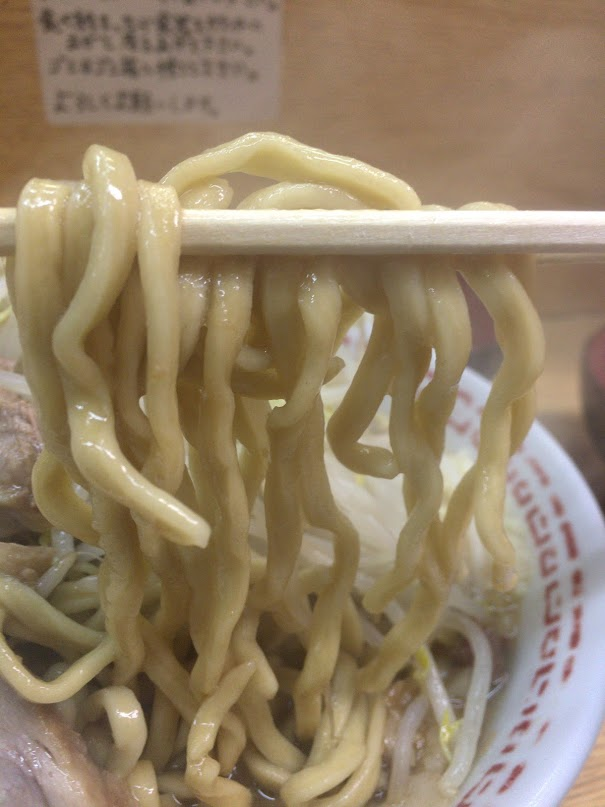 二郎,新代田,量,感想,麺,ルール,13