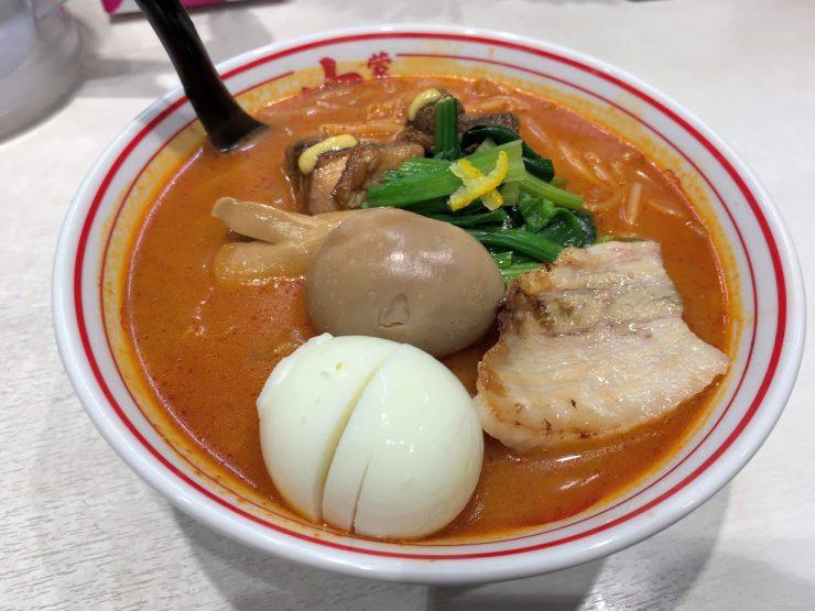 中本船橋店の『紅と豚』1