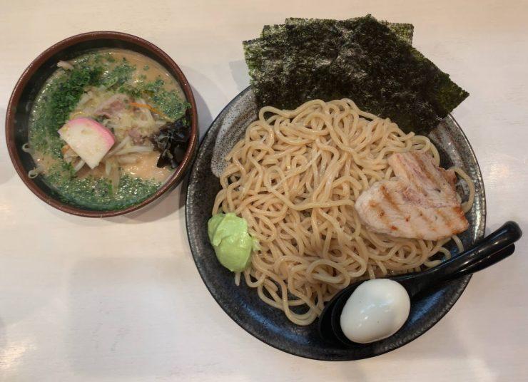 馬場中本のナガサワちゃんぽんつけ麺