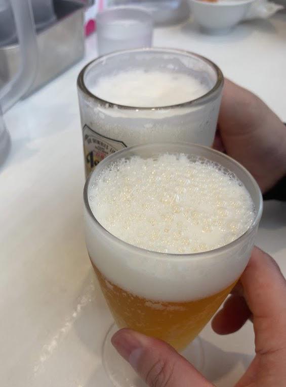 蒙古タンメン中本船橋店で川島風ひでやき・ビール