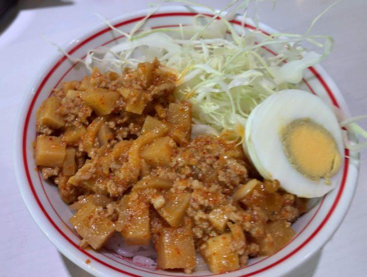 中本・北極担々麺、RED美味い
