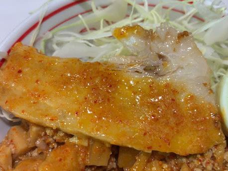 中本・北極担々麺、チャーシュー
