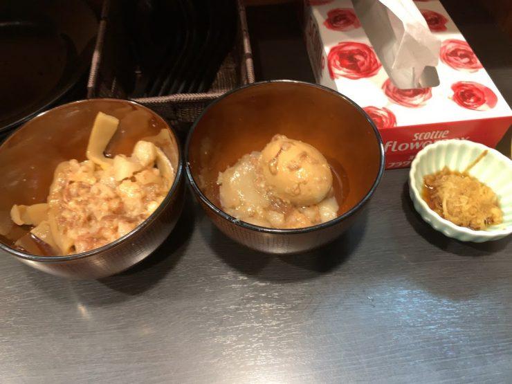 板橋・大山の自家製麺No11でラーメン-三兄弟