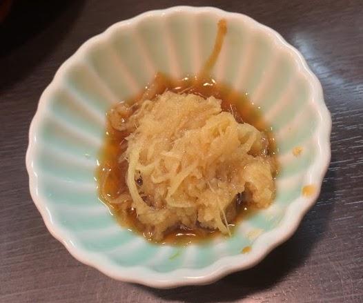 板橋・大山の自家製麺No11でラーメン-ショウガダレ