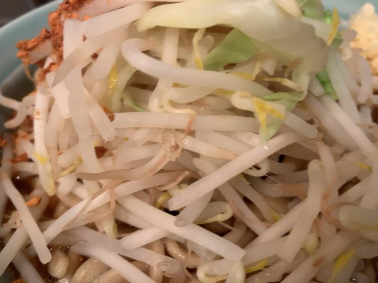 あかつき麺のヤサイ