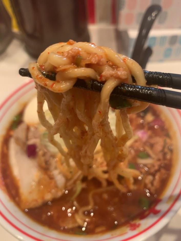 勝浦風トンタン麺(辛さ2倍)リフト