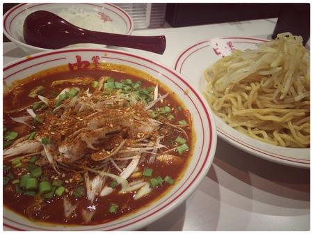 中本,東池袋,赤鬼,つけ麺12